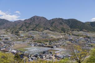 勝沼ぶどう郷の風景の写真素材 [FYI04621546]
