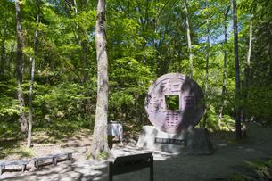 和銅遺跡 日本通貨発祥の地碑の写真素材 [FYI04621592]