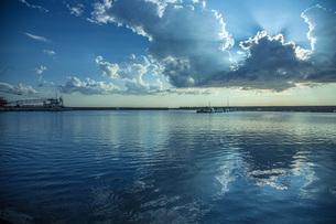 吹浦港の写真素材 [FYI04622117]