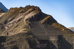 ウルバンバ谷のピサック遺跡の写真素材 [FYI04622266]