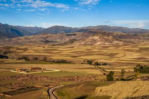 ペルー・ウルバンバ谷のミスミナイ村の写真素材 [FYI04622314]