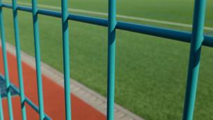 サッカーグラウンドの写真素材 [FYI04622717]