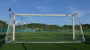 サッカーゴールの写真素材 [FYI04622727]