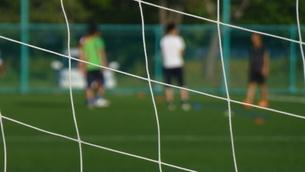 サッカー練習場の写真素材 [FYI04622748]