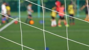 サッカー練習場の写真素材 [FYI04622755]