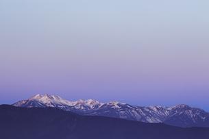 ビーナスベルトと乗鞍岳、高ボッチ高原よりの写真素材 [FYI04622936]