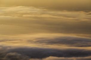 高ボッチ高原からの望む諏訪盆地の情景の写真素材 [FYI04622941]