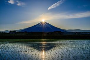ダイヤモンド富士の写真素材 [FYI04622971]