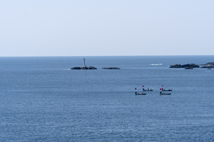 和歌山県 串本町の海の写真素材 [FYI04623050]