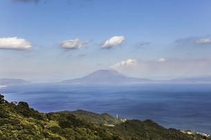 錦江湾と桜島の写真素材 [FYI04623505]