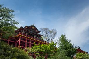 新緑の祐徳稲荷神社の写真素材 [FYI04623618]