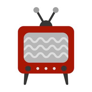 レトロなテレビのイラスト素材 [FYI04623625]