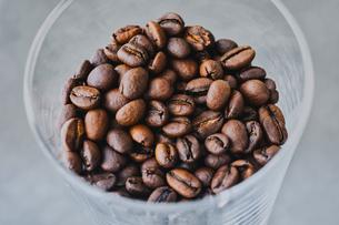 コーヒー豆の写真素材 [FYI04625349]