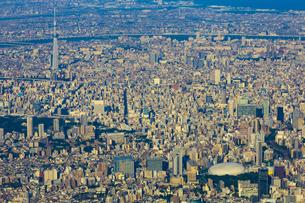 上空から見る東京の写真素材 [FYI04625484]