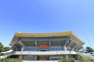 日本武道館の写真素材 [FYI04625768]