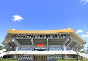 日本武道館の写真素材 [FYI04625770]