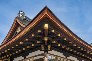 細殿 伝統建築と造形美の写真素材 [FYI04625974]