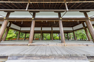 上賀茂神社 外幣殿西正面の写真素材 [FYI04626004]