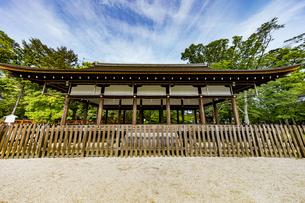 上賀茂神社 外幣殿西正面の写真素材 [FYI04626006]