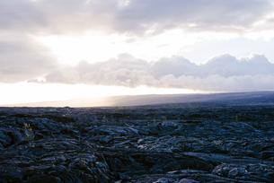 ハワイ島溶岩の写真素材 [FYI04626502]