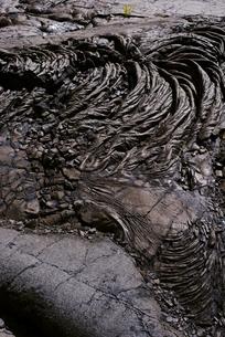 ハワイ島の溶岩の写真素材 [FYI04626516]