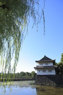 皇居の巽櫓の写真素材 [FYI04626629]