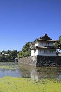 皇居の巽櫓の写真素材 [FYI04626632]