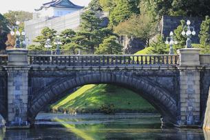 皇居の二重橋の写真素材 [FYI04626651]