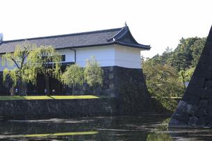 皇居の桜田門の写真素材 [FYI04626655]