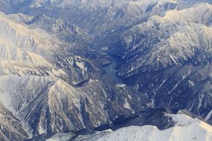 北アルプス黒部ダムの写真素材 [FYI04627164]