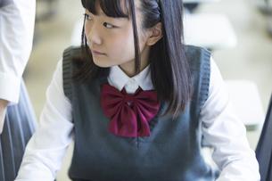 勉強する女子高生の写真素材 [FYI04627213]
