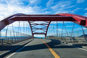 大分空港道路の楓江大橋の写真素材 [FYI04627318]