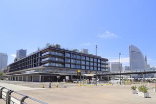 新港ふ頭の風景の写真素材 [FYI04627327]