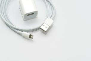 充電ケーブルの写真素材 [FYI04627483]