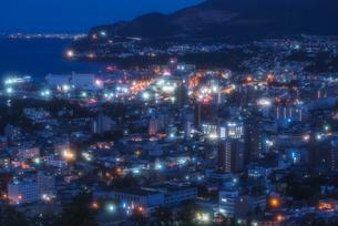 小樽夜景の写真素材 [FYI04627791]
