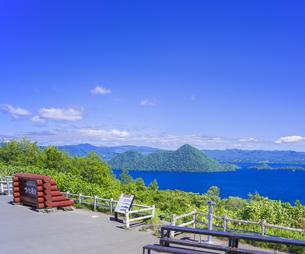 北海道 自然 風景 洞爺湖の写真素材 [FYI04628125]