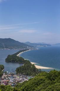 天橋立ビューランドから眺める日本三景「天橋立」の写真素材 [FYI04628557]