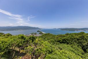 天橋立ビューランドから眺める日本三景「天橋立」の写真素材 [FYI04628558]