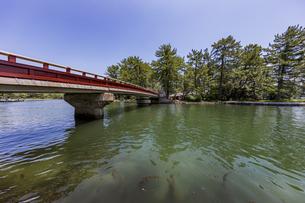 天橋立の観光名所「廻旋橋」の写真素材 [FYI04628561]