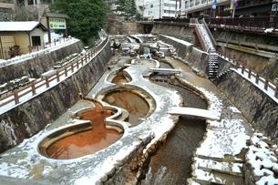 冬の有馬温泉の写真素材 [FYI04628801]
