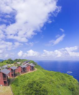 島根県 風景 海岸線と青空の写真素材 [FYI04628870]