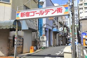 新宿ゴールデン街の写真素材 [FYI04628937]