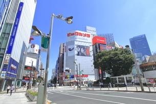 新宿駅東口の写真素材 [FYI04628940]