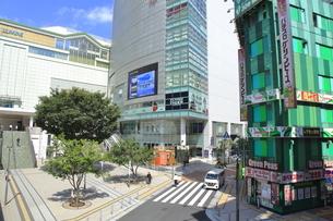 新宿駅東南口の写真素材 [FYI04628962]