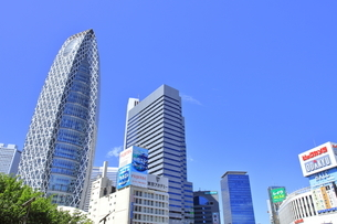 新宿駅西口の写真素材 [FYI04628987]