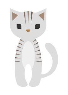 虎猫のイラスト素材 [FYI04629089]