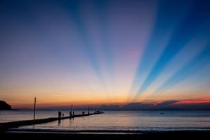 夕日の写真素材 [FYI04629187]
