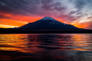 富士山の写真素材 [FYI04629189]