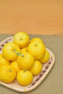 ゆず 柚子の写真素材 [FYI04629205]