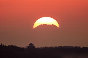 茨城県 霞ヶ浦と富士山の写真素材 [FYI04629218]